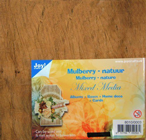 Joy! Crafts - Mulberry boombastvezels voor Mixed Media - Bruin