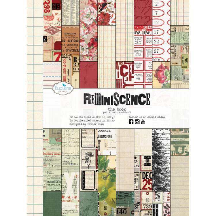 Elizabeth Craft Design - Paperpad  - Reminiscence - The Book