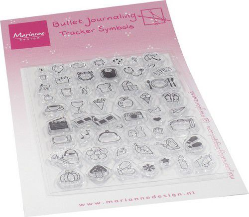 Marianne Design - Clearstamps - Marjoleines BuJo - Tracker symbols
