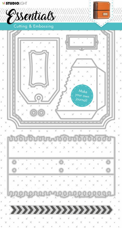 Studio Light - Cutting Stencil Essentials - Stencil Journal