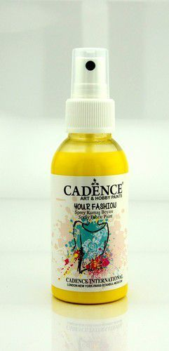 Cadence - Your fashion spray textiel verf - Citroen geel
