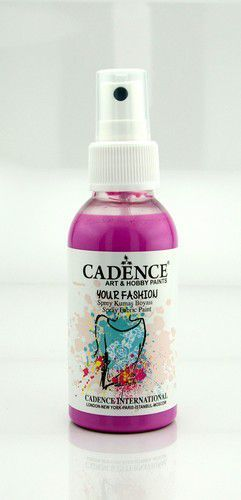 Cadence - Your fashion spray textiel verf - Roze