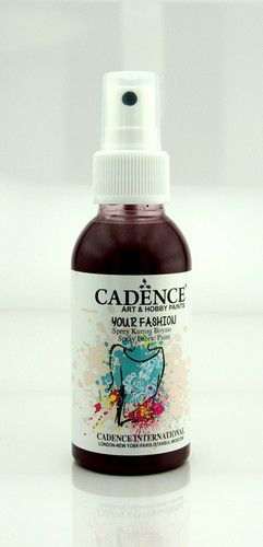 Cadence - Your fashion spray textiel verf - Bordeaux