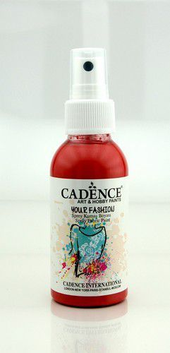 Cadence - Your fashion spray textiel verf - Scharlaken