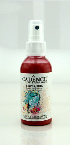 Cadence - Your fashion spray textiel verf - Crimson