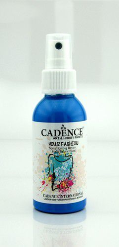 Cadence - Your fashion spray textiel verf - Zee blauw