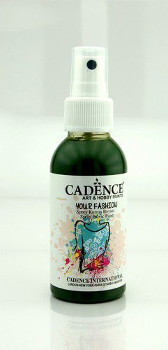 Cadence - Your fashion spray textiel verf - Bladgroen