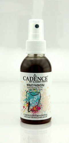 Cadence - Your fashion spray textiel verf - Bruin