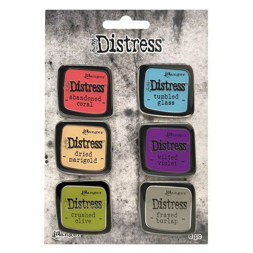 Tim Holtz - Distress Enamel Pin - Set 3
