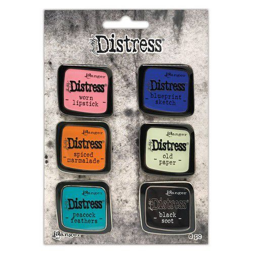Tim Holtz - Distress Enamel Pin - Set 4
