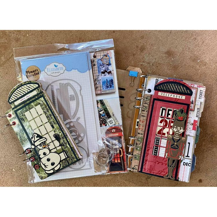 Elizabeth Craft Design - LIMITED EDITION - Phone Booth Kit