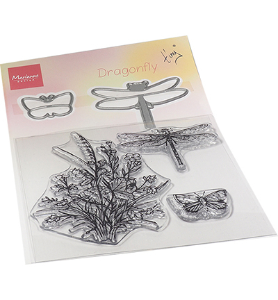 Marianne Design - Stamp & Die Set - Tiny's Dragonfly