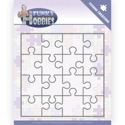 Stansmal - Yvonne Creations - Funky Hobbies - Puzzle