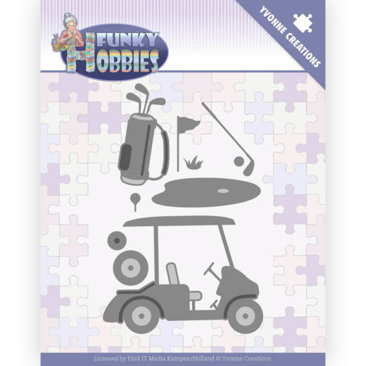 Stansmal - Yvonne Creations - Funky Hobbies - Golf