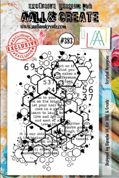 AALL & CREATE - Clearstamp A7 - set number 383