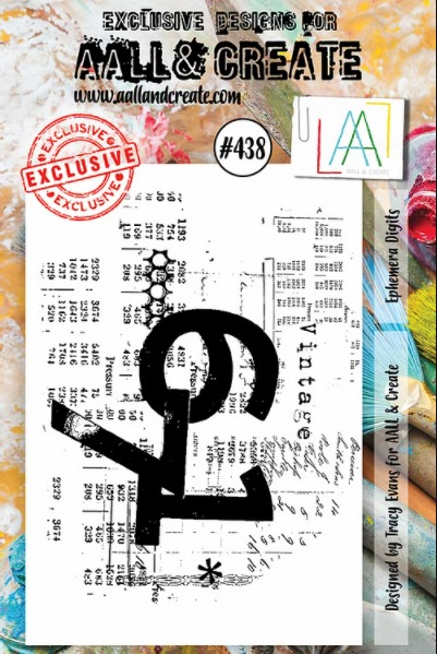 AALL & CREATE - Clearstamp A7 - set number 438