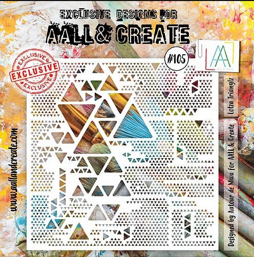 AALL & CREATE - Stencil - set number 105