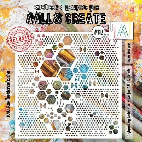 AALL & CREATE - Stencil - set number 112