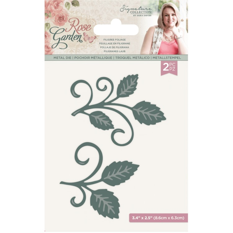 Crafter's Companion - Rose Garden - Stansmal - Filigree Foliage