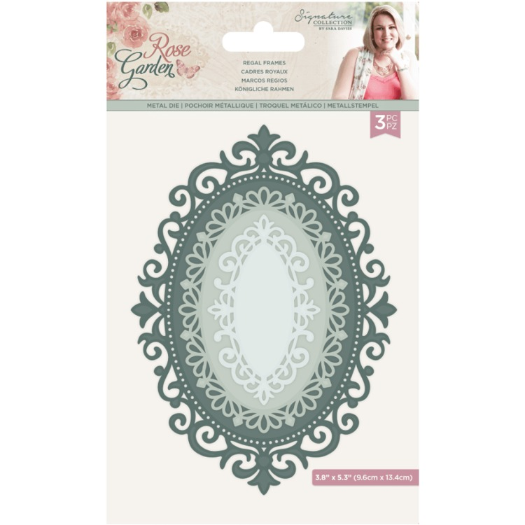 Crafter's Companion - Rose Garden - Stansmal - Regal Frames