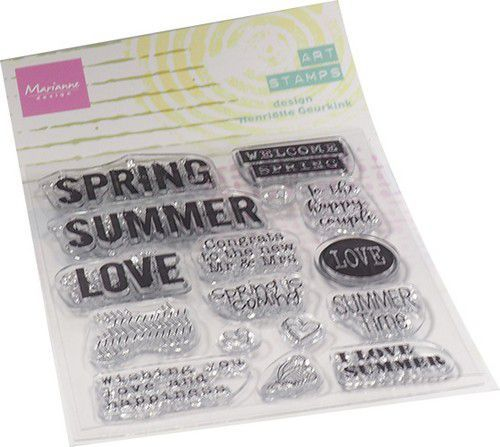 Marianne Design - Mixed Media - Clearstamp - Summertime (ENG)