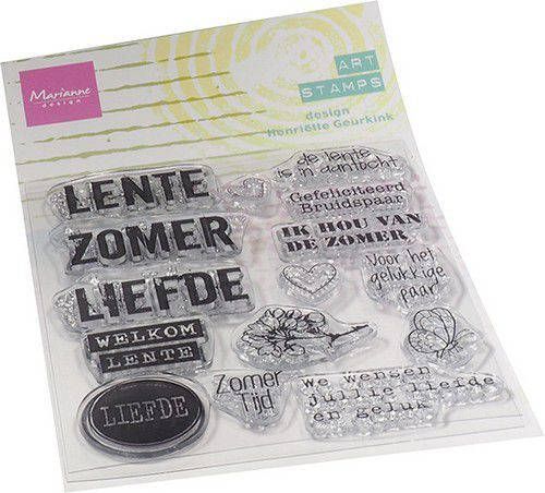 Marianne Design - Mixed Media - Clearstamp - zomertijd (NL)