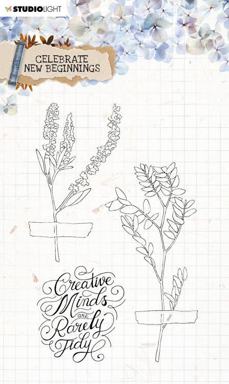 Studio Light - Celebrate New Beginnings - Stempel A6 - STAMPCNB515