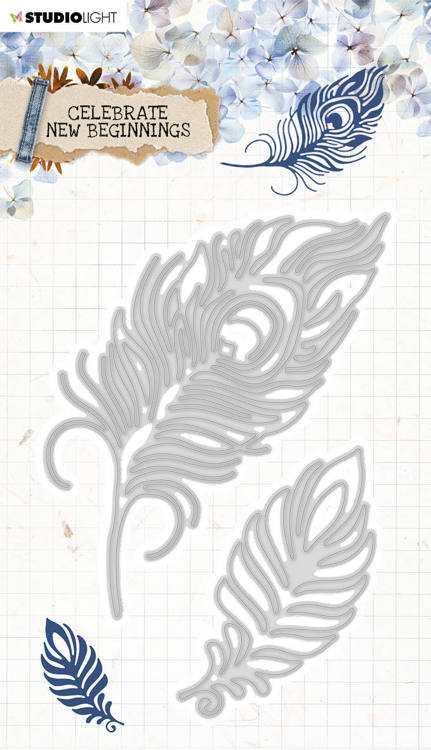 Studio Light - Celebrate New Beginnings - Cutting Stencil - STENCILCNB373