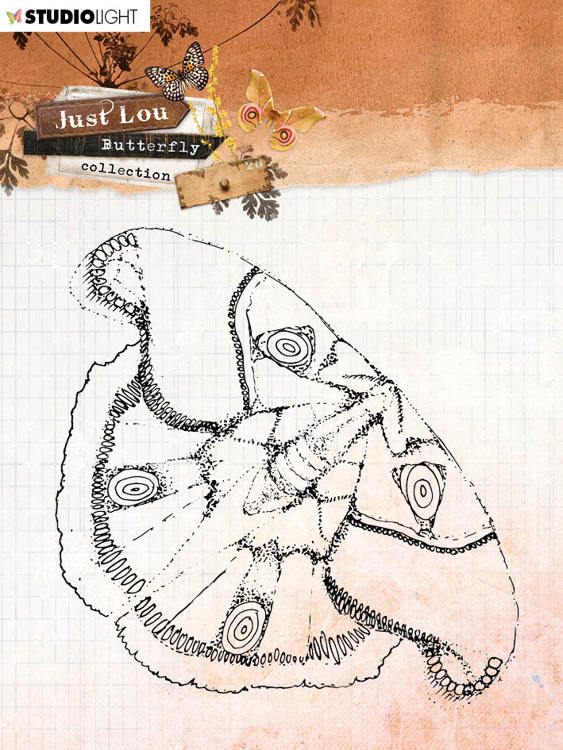Studio Light - Just Lou Butterfly - Clearstamps STAMPJL13