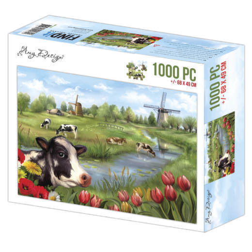 Jigsaw puzzel 1000 pc - Amy Design - The Netherlands