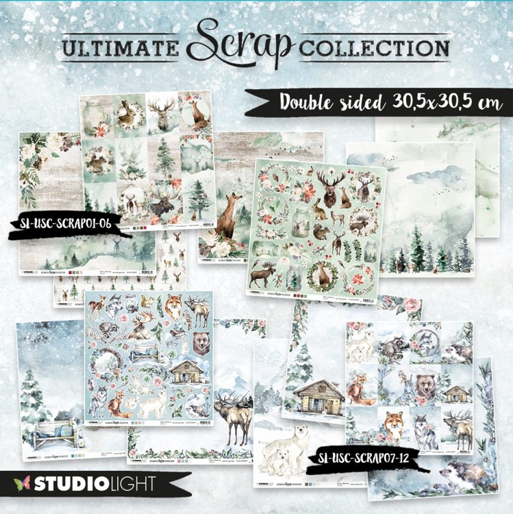 Studio Light - The Ultimate Scrap Collection - COMPLETE COLLECTIE 01t/m12