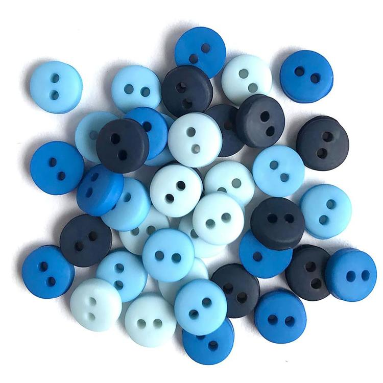Buttons Galore - Tiny Buttons - Blues