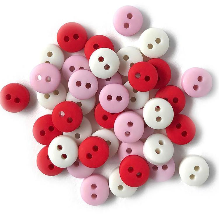 Buttons Galore - Tiny Buttons - Sweetheart