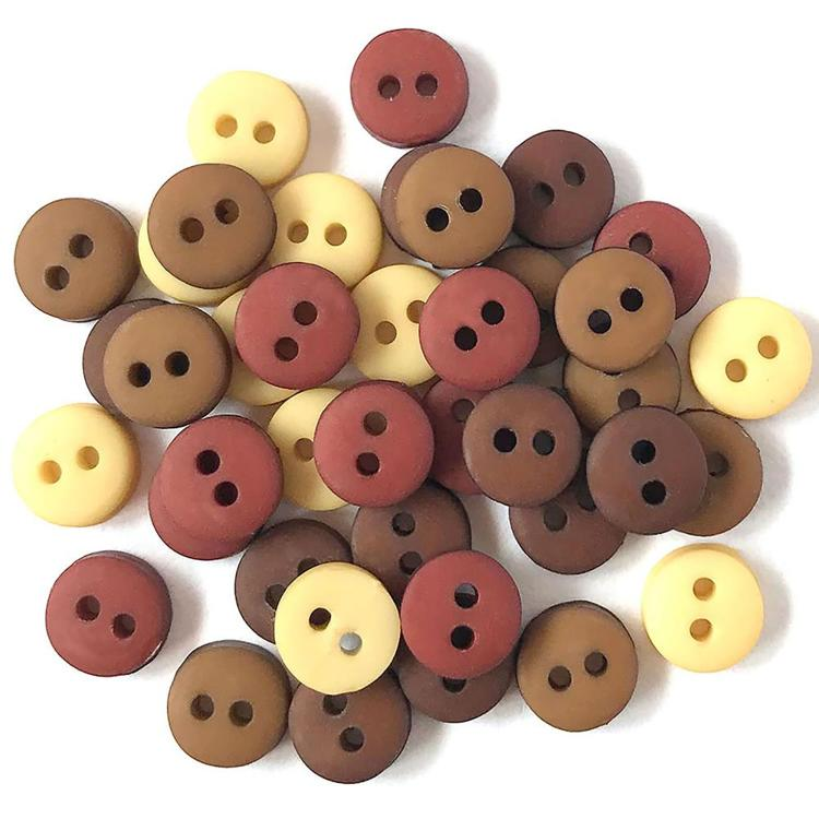 Buttons Galore - Tiny Buttons - Natural