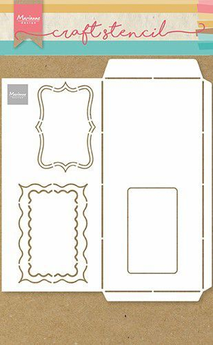 Marianne Design - Craft Stencil - Slimline Enveloppe A4