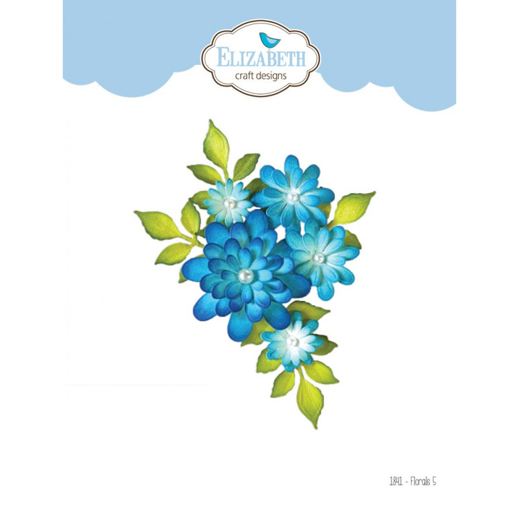 Elizabeth Craft Design - The Paper Flower Collection - Florals 5