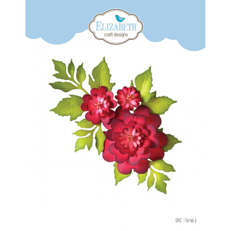 Elizabeth Craft Design - The Paper Flower Collection - Florals 6