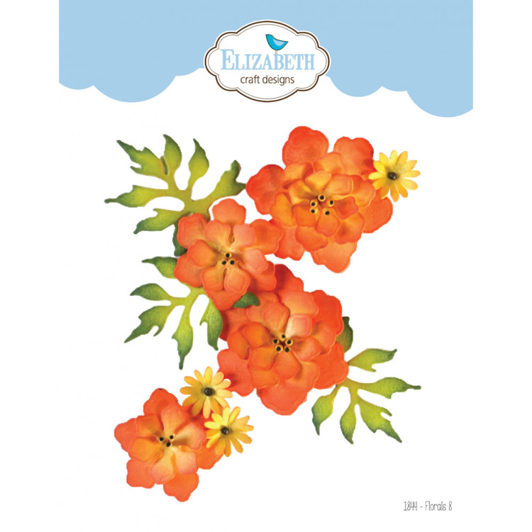 Elizabeth Craft Design - The Paper Flower Collection - Florals 8