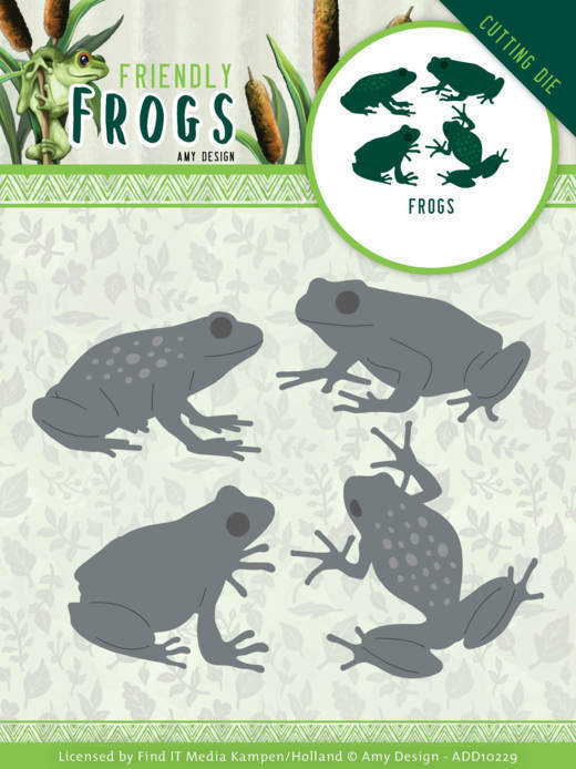 Stansmal - Amy Design - Friendly Frogs - Frog