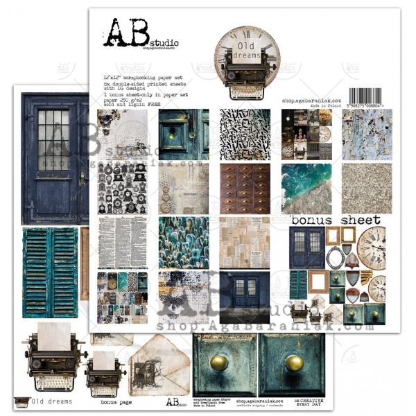 Collection Kit - AB Studio - Old Dreams