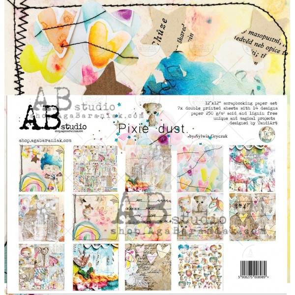 Collection Kit - AB Studio - Pixie Dust by TandiArt