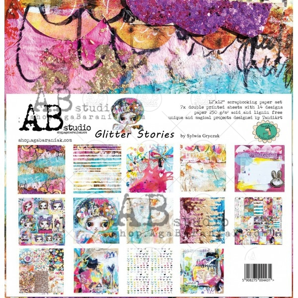 Collection Kit - AB Studio - Glitter Stories