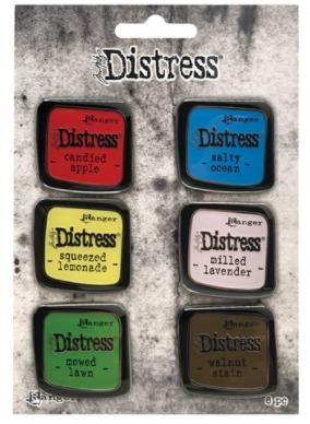 Tim Holtz - Distress Enamel Pin - Set 5