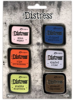 Tim Holtz - Distress Enamel Pin - Set 6