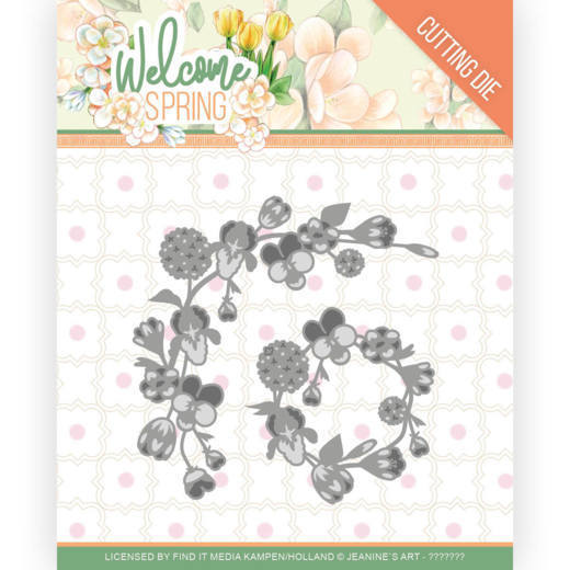 Stansmal - Jeanine's Art  Welcome Spring - Spring Garland