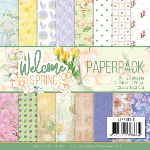Paperpad - Jeanine's Art  Welcome Spring