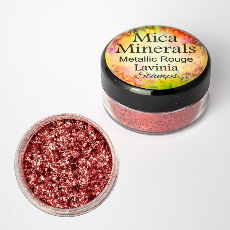 Lavinia Stamps - Mica Minerals - Metallic Rouge