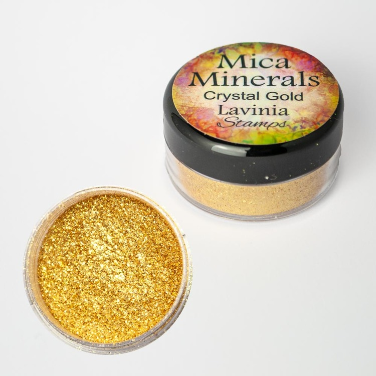 Lavinia Stamps - Mica Minerals - Crystal Gold