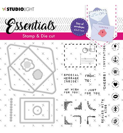 Studio Light - Stamp & Die Cut Essentials - BASICSDC55
