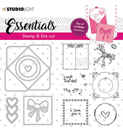 Studio Light - Stamp & Die Cut Essentials - BASICSDC56